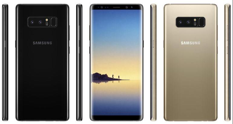 Samsung เปิดตัว Galaxy Note 8 มือถือเรือธงซีรีส์ Galaxy Note8
