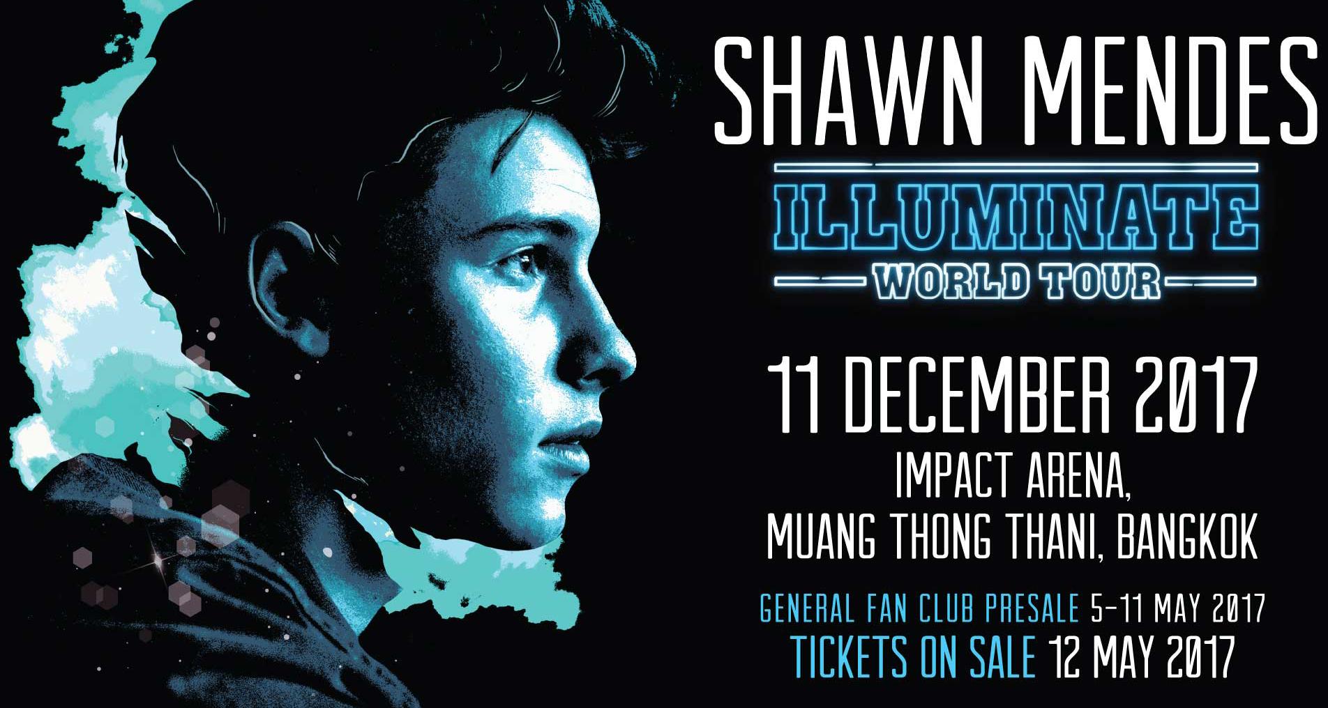 """""""ฌอน เมนเดส"""" เตรียมเยือนไทยเปิดคอนเสิร์ตใหญ่ครั้งแรก 11 ธันวาคมนี้"""